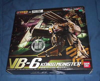 Bandai Macross Frontier DX Chogokin VB-6 Konig Monster NEW Robotech VF-25S 25F