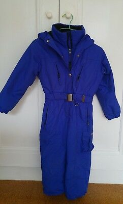 girls boys ski snow suit size 5