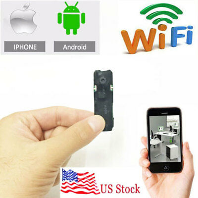 wireless spy IP WIFI pinhole hidden mini camera DIY Security micro dvr Recorder