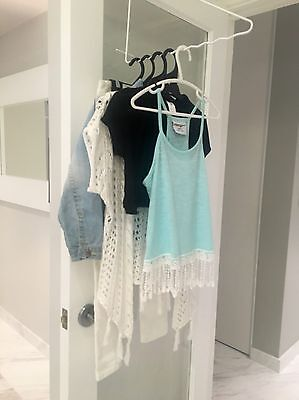 Girls Size 7 Clothes and accessories bundle inc. Next, H&M