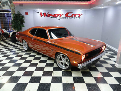 1972 Plymouth Duster  Plymouth Duster Resotmod Supercharged Custom Arizona Car Cold A/C Billet Wheels!