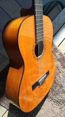 Vintage nylon strings classical guitar full size