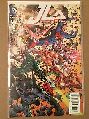 JUSTICE LEAGUE of AMERICA (2015) #7 COVER A by BRYAN HITCH NM 1ST PRINTING JLA