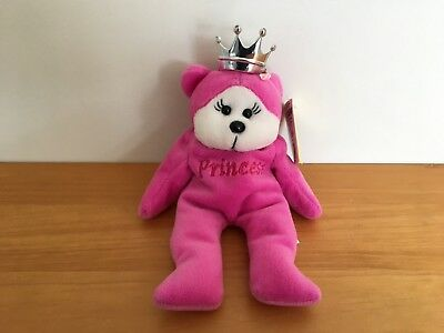 Beanie Kids Princess The Bear With Tags Retired (2000)
