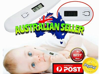 Digital LCD Body Thermometer Temperature baby infant kids children child adult