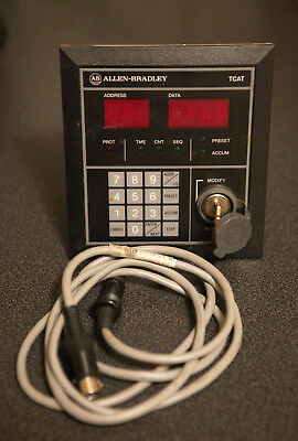 Allen Bradley 1745-TCAT Timer Counter Access Terminal Series B FRN 2 + Cable