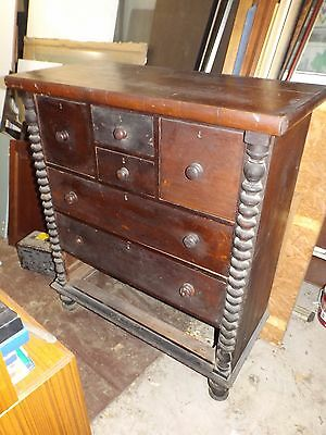 Old cedar chest of drawers