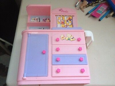 Mattel Genuine Barbie Accessory *Cupboard & Drawers from Happy Family Set* 2003