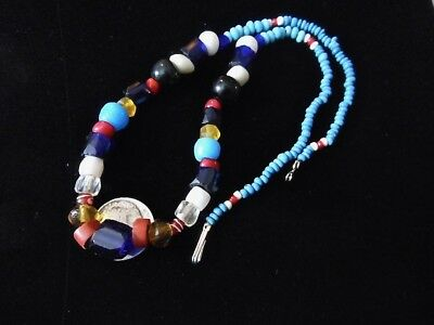 OLD FIRST NATIONS NATIVE AMERICAN TRADE BEADS from the PACIFIC NORTHWEST