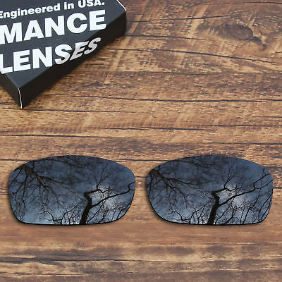 T.A.N Polarized Lenses Replacement for-Oakley Fives Squared(4+1)²- Black