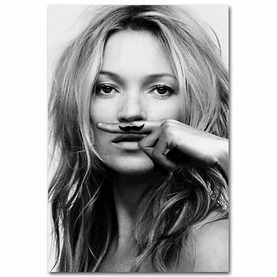 Kate Moss Life is a Joke Canvas Posters Art Prints 8x12 24x36inch Bedroom Decor