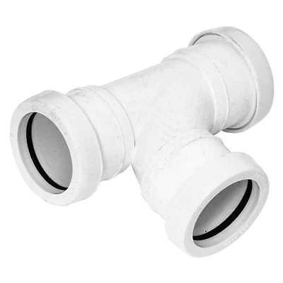 Push-Fit White Waste System 32mm Socket Plug WPSP32W