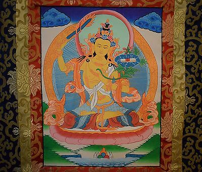 Manjushree Buddhist Thangka