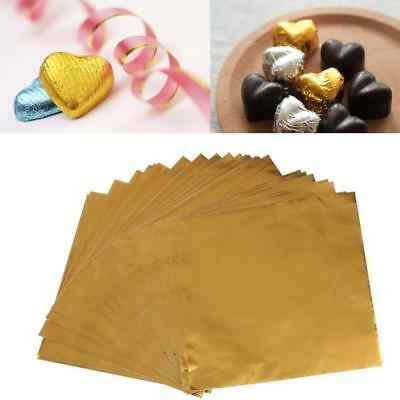 Metallic Foil Gold Paper Sweet Bags - Favours,Party Bag,Wedding,Candy Buffet FI