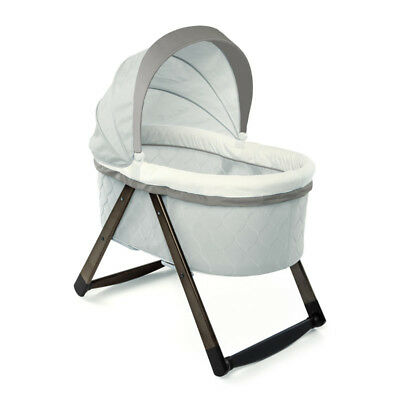 Ingenuity Foldaway Deluxe Wood Rocking Bassinet - Carrington