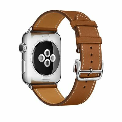 Apple Watch Hermes 42mm Fauve Barenia Leather Single Tour (Band Only)