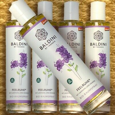 Baldini Bio-Raumspray FEELRUHE Demeter Raumduft bio Lavendel Benzoe Orange 50ml