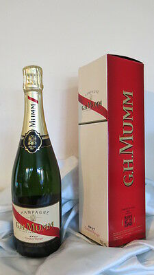 G.H. Mumm Brut Cordon Rouge French Champagne 750ml BNIB