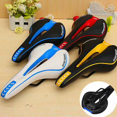 Road Mountain Gel Comfort Saddle Bike Bicycle Cycling Seat Soft Cushion Pad Cool