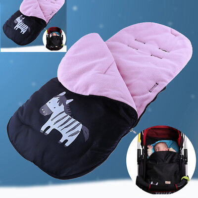 Baby Stroller Footmuff Cover Warm Sleeping Bag Carriage Pushchair Foot-Cover Csy