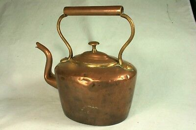 Vintage Copper and Brass Kettle