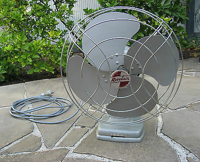 Revelair Electric Table Fan – Vintage late 1950s – gentle breeze