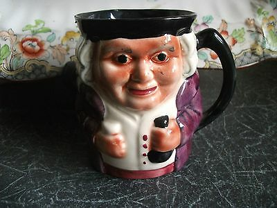 Shorter & Son Hand Painted Vintage Character Jug