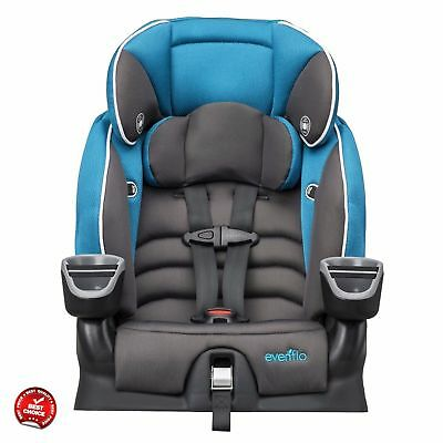 Convertible Car Seat Booster High Back Child Seats For Toddlers Best 2-in-1 NEW