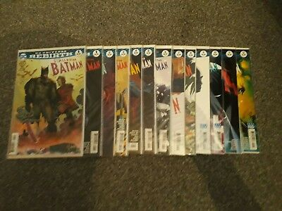 DC Rebirth All Star Batman Issues 1- 12