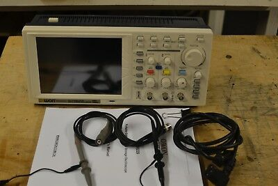 """OWON 7.8"""" LCD oscilloscope 25MHz PDS5022S Used Ex. Cond."""