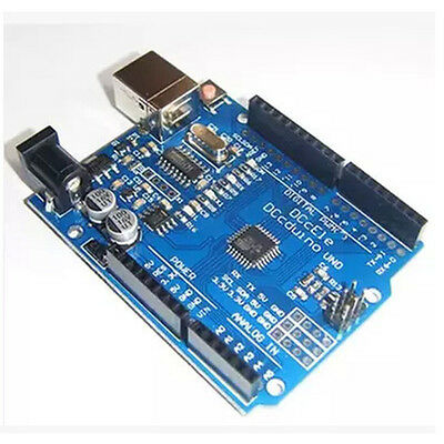 Latest Version UNO R3 ATMEGA328P-16AU CH340G Type B Compatible to Arduino