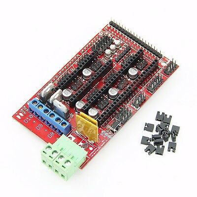 RAMPS 1.4 Control Shield Board 3D Printer Control Board for Reprap Prusa Mendel