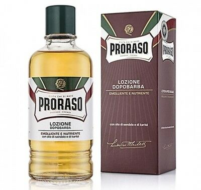 Proraso Sandalwood Aftershave. 400ml Brand New Product. Barber size...