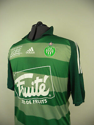 St Etienne Home football shirt 2009/2010 Chemise Jersey