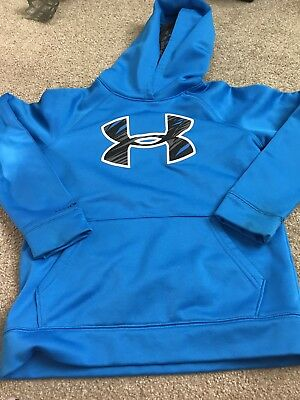Under Armour Big Logo YMD /M (10-12) Youth Boys Pullover Hoodie