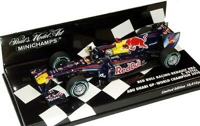 Voiture miniature au 1/43 Red Bull Renault RB6 S.Vettel World Champion 2010