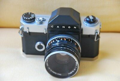 Canonflex Camera With Lens,  Almost Mint