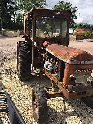nuffield tractor h reg 1971