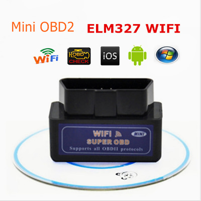 ELM327 OBD2 Wi-Fi Car Diagnostic Interface Scanner Scan Tool pour Android IOS PC