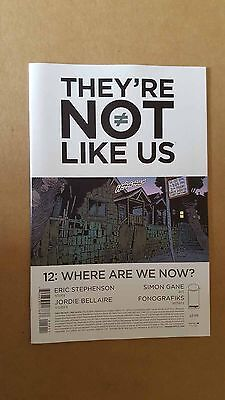 THEY'RE NOT LIKE US #12 - IMAGE COMICS  1st PRINT