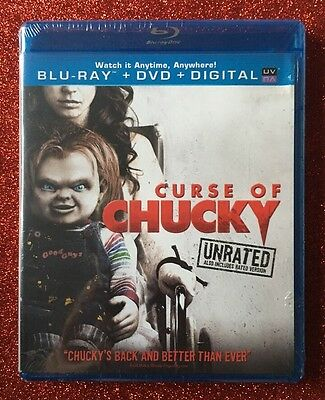 Curse of Chucky (Blu-ray/DVD/Digital HD, 2013; Unrated) NEW