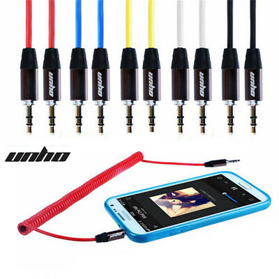 6ft 3.5mm AUX AUXILIARY CORD Male to Male Stereo Audio Cable for PC iPod MP3 CAR