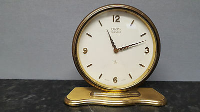 Vintage Oris Mechanical Mantle Clock