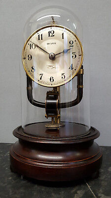 Vintage Bulle Electro-Magnetic 800 Day Mantle or Table Clock