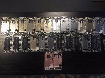 LOT of (12) iPhone 6 boards w/housing (13) iPhone 6 housings (2) 6s housings