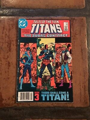 Tales of the Teen Titans #44 (DC, 1984) JUDAS CONTRACT BOOK 3