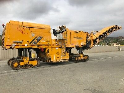 Wirtgen W2100 Cold Planer Machine Low Hours Cat 680 Hp, Ex California