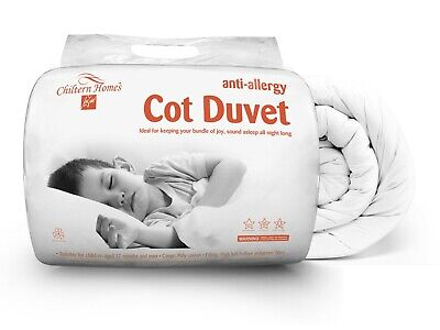 4 in 1 Bundle Set Anti-Allergy Toddler Baby Cot Quilt Duvet Pillow 4.5, 7.5, 9.0
