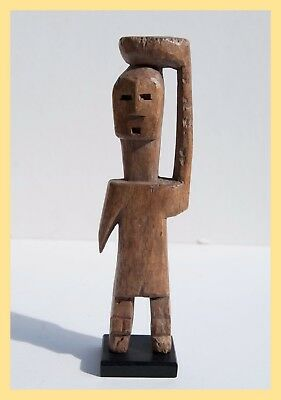 ADAN FIGURE - Hand Carved Wooden Figure, by the Adan people, Ghana, Africa