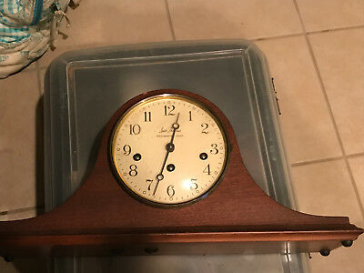 Seth Thomas Woodbury Westminster Chimes Mantle Clock-Cat.# 1302A (1302-001)